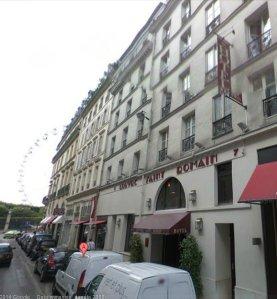 The Hotel Saint Romain, 5 rue Saint-Roch, Paris [https://maps.google.com/]
