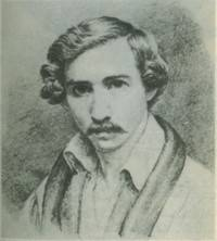 RLS's probable self-portrait, 1877?